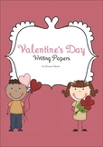 Valentine's Day Writing and Drawing Papers
