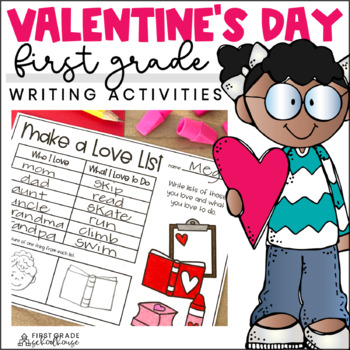 Valentine's Day Writing for First Grade