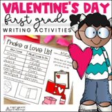 Valentine's Day Writing Activities First Grade | Valentine's Day Writing Prompts