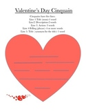 Valentine's Day Writing prompt with textual evidence and C