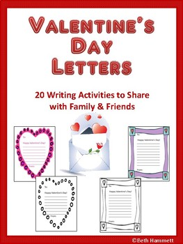 Valentine's Day Writings Handouts