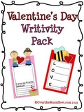 Valentine's Day Writivity Pack