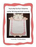 """Valentine's Day - """"You're My Purrfect Valentine"""" Writing a"""