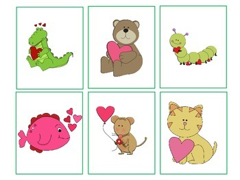 Valentine's Day Zoo Drill Activity!