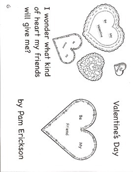 Valentine's Day- a guided reading book