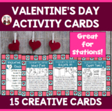 Valentines Day Task Cards
