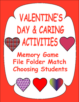 Valentine's Day and Caring Activities for Early Learners