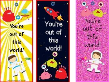 Valentine's Day bookmark FREEBIES
