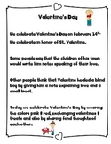 Valentine's Day differentiated  Nonfiction and Reading Com
