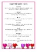 Valentine's Day Fact Cards