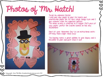 Valentine's Day for Gifted GATE talented: Somebody loves your Mr. Hatch