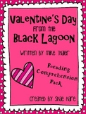 Valentine's Day from the Black Lagoon {Reading Comprehension Pack} Mike Thaler