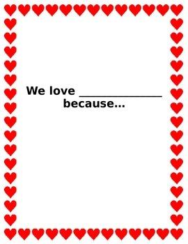 Valentine's Day group activity
