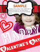 Valentines Day Talking Card on the iPad