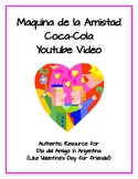Valentine's Day in Argentina - Día del Amigo Authentic Video Activity