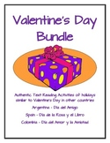 Valentine's Day in Argentina, Spain, and Colombia Bundle