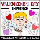 Valentine's Day Activities and Games in French - La Saint-Valentin en Français