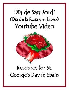 Valentine's Day in Spain - Día de la Rosa y el Libro Video Activity