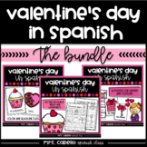Valentines Day in Spanish Bundle - Dia de San Valentin