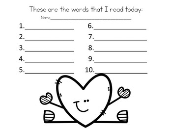 Valentine's Day Game for Long Vowel Silent e pattern