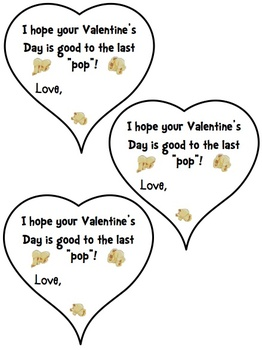 Valentine's Day (popcorn) treats for students