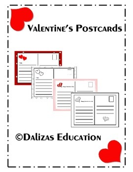 Valentine's Day postcards | Valentine's day cards