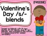 Valentine's Day /s/-blends