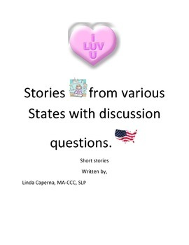 Valentine's Day short stories with comprehension and thinking questions.