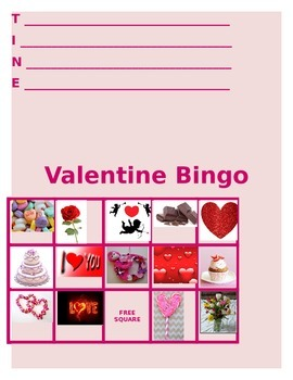Valentine's Day student activity packet