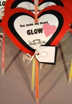 Valentines Day student gift (GLOW STICKS-set of 12)