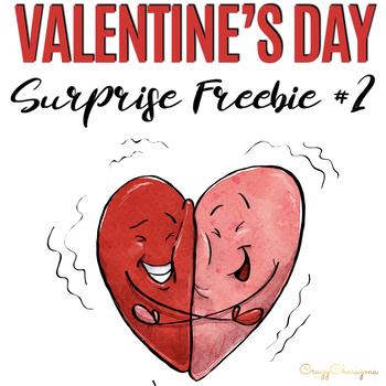 Valentines Day surprise freebie 2