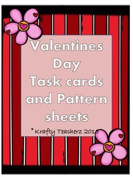 Valentine's Day math task cards and more (February)