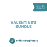 Valentine's Day the Orff way: A Valentine's Lesson about F