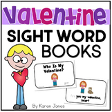 Valentine's Day themed Sight Word Books -- Set of 5 Emergent Readers