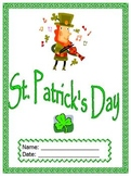 St. Patrick's Day themed unit; self-contained special ed packet, Boardmaker