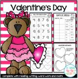 A Bundle of Valentine's Day Activities...Math, Literature,