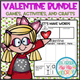A Bundle of Valentine's Day Activities...Math, Literature,