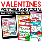 Valentines Digital and Printable Valentine's Day Cards