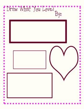 Valentine's Drawing Activity