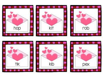 Valentine's ELA and Math Games and Printables