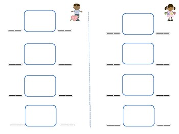 Valentines Early Literacy Station Games