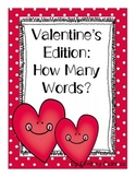 Valentine's Edition: How Many Words?