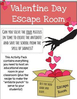 Escape Room: Valentine's Day Love Spell