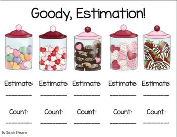 Valentines Estimation Practice