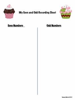 Valentine's Even and Odd Math Sort