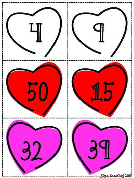Valentine's Day Even and Odd Numbers Math Games