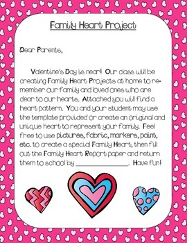 Valentine's Family Heart Project