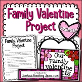 Valentine's Day Family Heart Project ***FREEBIE*** --- February Family Project