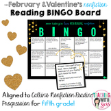 Valentines February Nonfiction Reading Bingo Board- Calkin