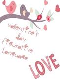 Valentine's Figurative Language Worksheet practice